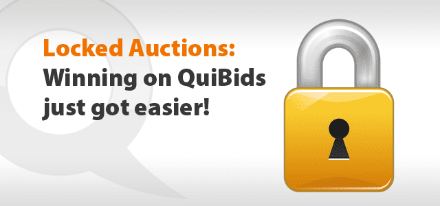Winning on Quibids - Locked Autions