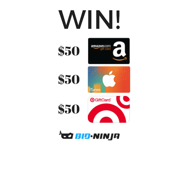 Enter to Win a $50 iTunes, Amazon or Target Gift Card