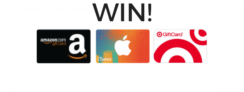 Win a $50 Amazon, iTunes, or Target Gift Card for the Holidays