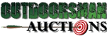 Outdoorsman Penny Auctions Logo